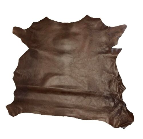 Springfield Leather Co. Rust Grenada Goat Hide Leather 3-5 sqft piece