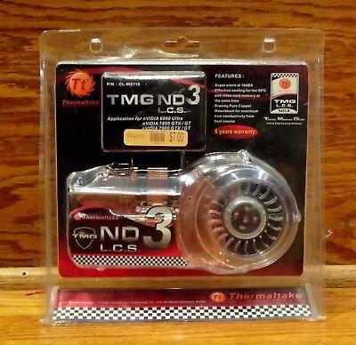 Thermaltake TMG ND3 LCS VGA Waterblock Nvidia Geforce 6800Ultra/7800/7900/GT/GTX - Nvidia Geforce 6800 Ultra