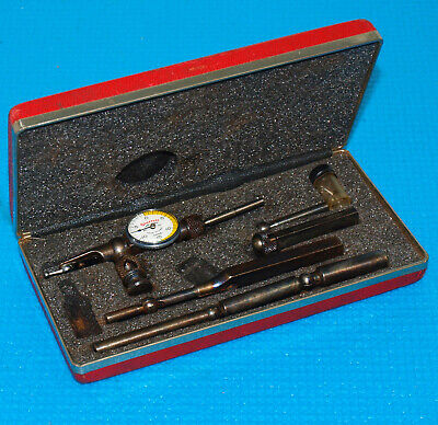 Starrett Last Word 711 Dial Test Indicator Set .0005 Division Shaded Dial