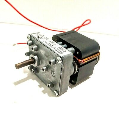 Rex Engineering 6124 Gear Motor D69477 Class B Electric 220vac 5060hz
