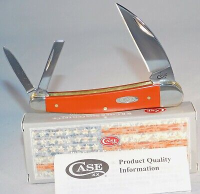 CASE XX Terra Cotta Synthetic Seahorse Whittler Pocket Knife