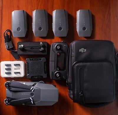 DJI Mavic Pro 4K Drone Fly More Combo + 5 Batteries + ND Filters