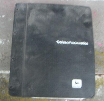John Deere 670b 672b 770b 772b Grader Operators Technical Manual Parts Catalog