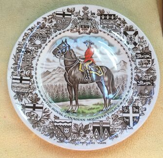 Woods and son, Royal Canadian Mounted Police - Plate