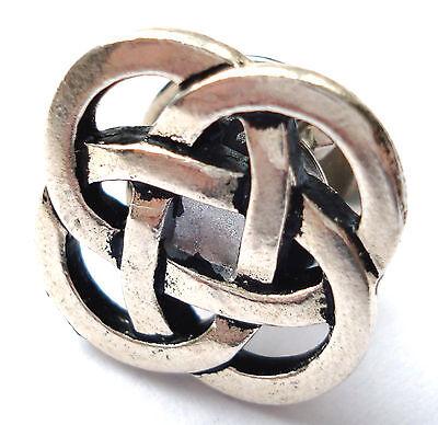 Celtic Knot Lapel Pin - Tie Tack - Gift Idea - Handmade - Gift Box