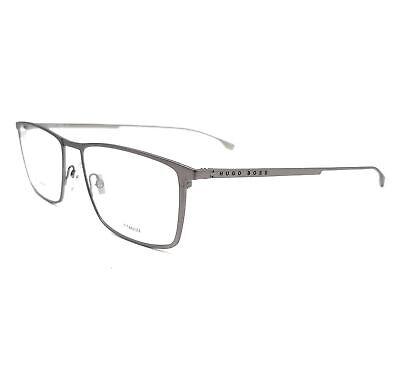 BOSS by Hugo Boss Eyeglasses 0976 FRE Matte Grey Men 55x17x145