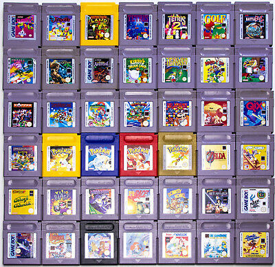 Gameboy Spiele Mario Tetris Zelda Pokemon rot gelb blau Donkey Kong nur Modul (Tetris Mario)