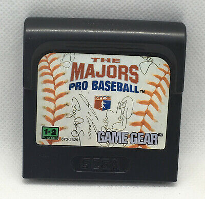 The Majors Pro Baseball - Game Cart Only - Tested & Works - Sega Game Gear