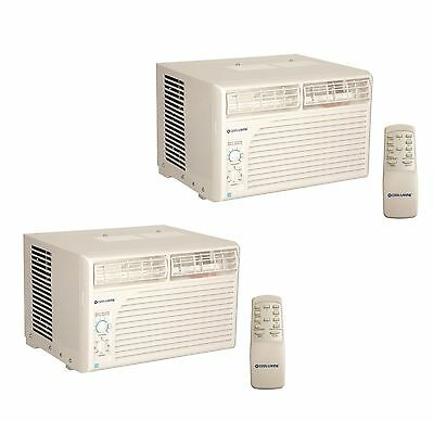 2) Cool Living 12,000 BTU Energy Star Window Mount Room Air Conditioner AC Units