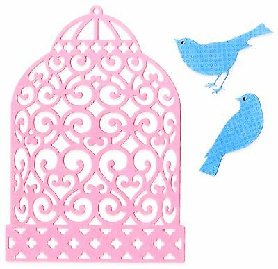 Sizzix Thinlits Birdcage 3pc set #660691 Retail $19.99 designer Brenda Walton
