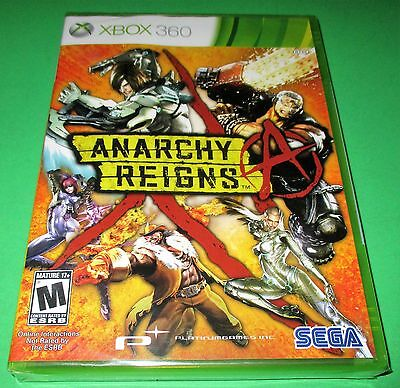 Anarchy Reigns Microsoft Xbox 360 *Factory Sealed! *Free Shipping!