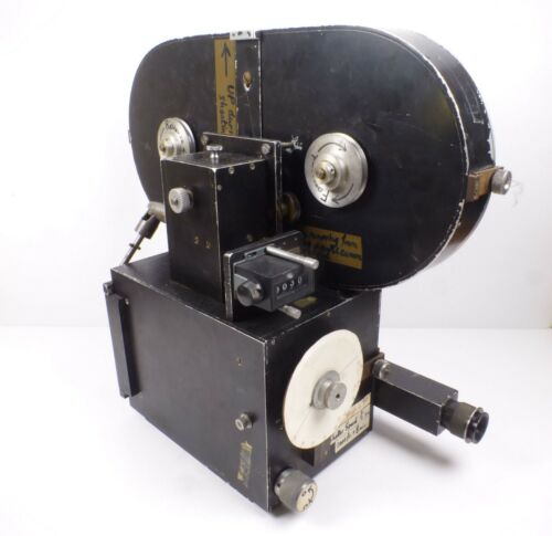 An Unbranded 16mm Animation Cine Movie Camera with 400ft Film Magazine