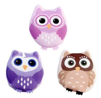 Serenade - 3 Pack Owl Design Click and Heat Owl Hand Warmers