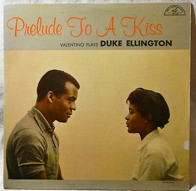 Valentino Plays Duke Ellington Prelude to a Kiss Jazz LP Original Mono DG Vinyl  Duke Ellington Prelude To A Kiss