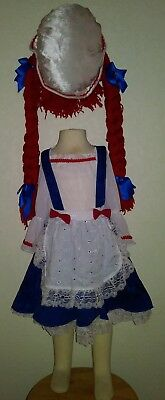 Toddler Girls Rag Doll Yarn Babies Costume by Rubies Raggedy Ann - Raggedy Ann Costume Baby