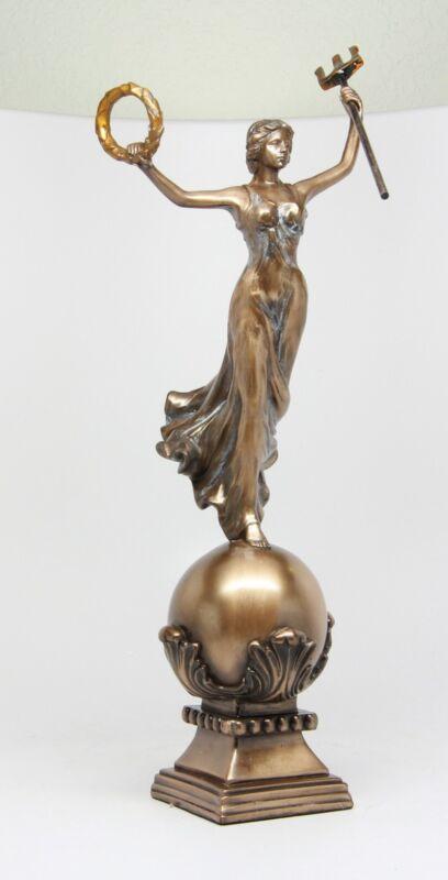 VICTORIA GODDESS OF VICTORY NIKE ROMAN ROME GREEK MYTHOLOGY FIGURINE STATUE