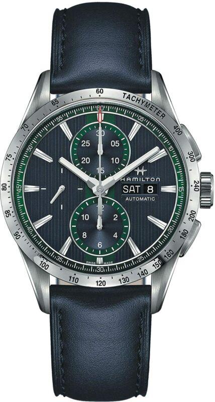 Hamilton-Men-H43516641-Broadway-Blue-Dial-43mm-Leather-Watch