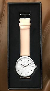 Christian Paul Airlie Marble Silver Nude Leather Watch BNIB Bexley North Rockdale Area Preview