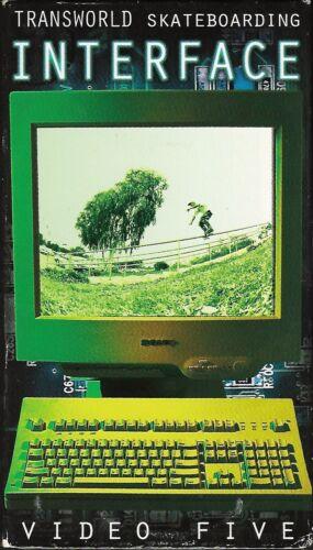 "(1997) Transworld Skateboarding / ""Interface"" / VHS Skateboard Video!"