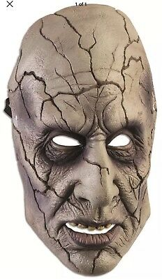 Demon Evil Villain Halloween Adult Face Mask For Party And Theater - Painted Skeleton Face For Halloween