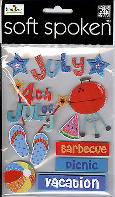 4th Of July Craft Ideas (4th of July - Soft Spoken Stickers - Me & My Big)