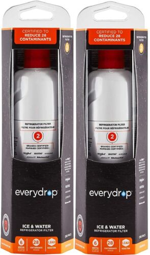 2 Pacs Whirlpool EveryDrop 2 W10413645a Edr2rxd1 Refrigerator Water Filter