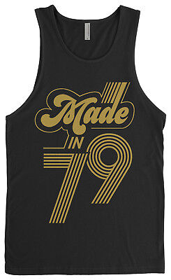 Made In 1979 Men's Tank Top 40th Birthday Party Gift Idea
