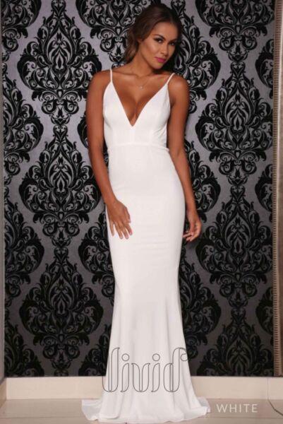 White Formal Dress Formal Gumtree Australia Gold Coast City