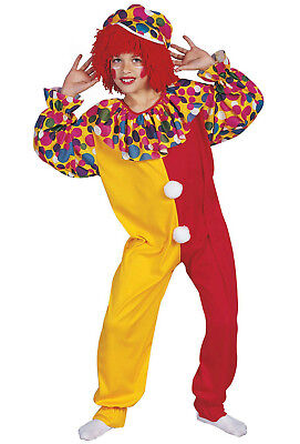 RG Costumes Boys Circus Clown Child Costume Jumpsuit and Hat Size Small - Child Clown Costumes