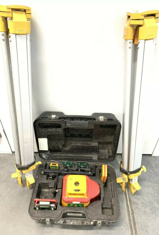 Pacific Laser Systems HVR-505G Green Beam Multifunction Rotating Laser Level
