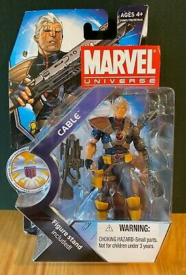 Marvel Universe Cable Action 3.75in Figure Series 3 2011 X-Men X-Force Deadpool