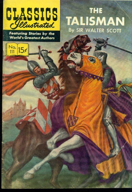 CLASSICS ILLUSTRATED #111 THE TALISMAN (HRN 166) 1968