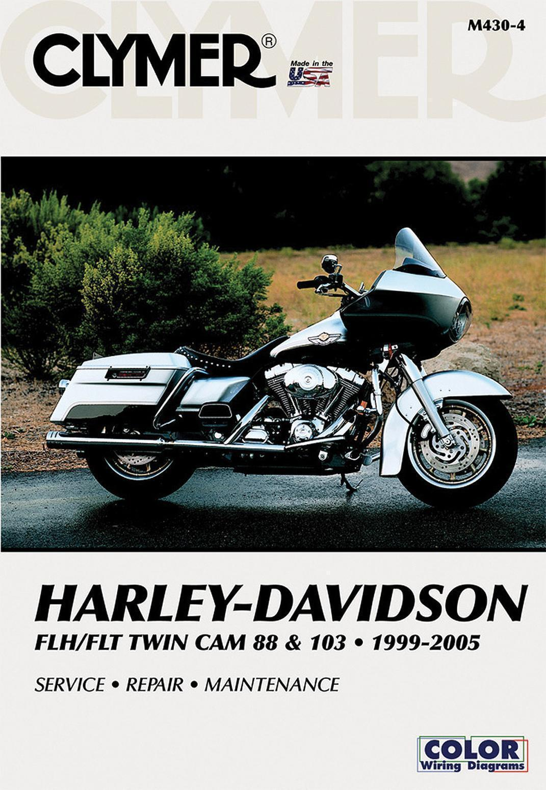 Clymer M4304 Service Repair Manual For Harley Flh Flt Twin Cam 88 Wiring Diagram Rescontentglobalinflowinflowcomponenttechnicalissues