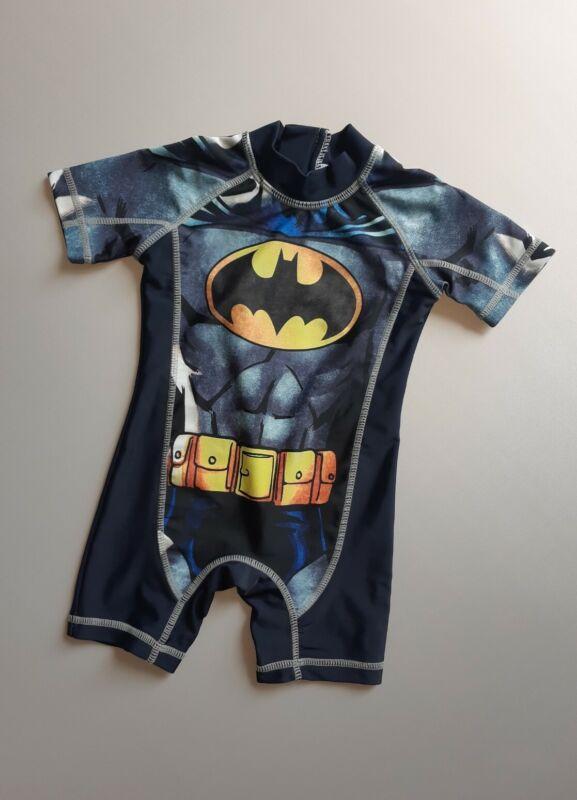 NEXT Baby Boys Sun Safe Swimming Suit UPF 50+ Batman  Size 9-12 Months / EUR 80