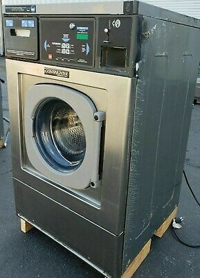 Continental Girbau Front Load Washer 20lb Coin Op120v 1ph Sn1432493a08 Ref