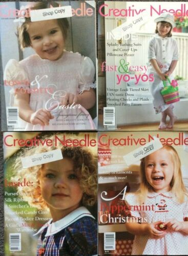 CREATIVE NEEDLE MAGAZINE- YEAR 2008- 4 CHOICES-- SHOP COPY