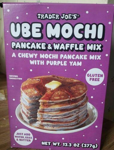 Trader Joe's Ube Mochi Pancake & Waffle Mix Limited Summer Item
