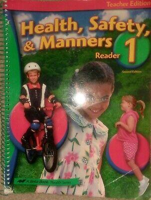 A Beka Book: Health, Safety, & Manners Reader Grade 1 Teacher Edition, Edition 2 for sale  Valdosta