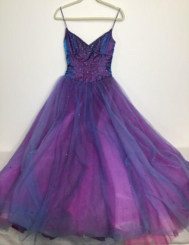 Vintage Alfred Angelo Ball Gown Prom Princess