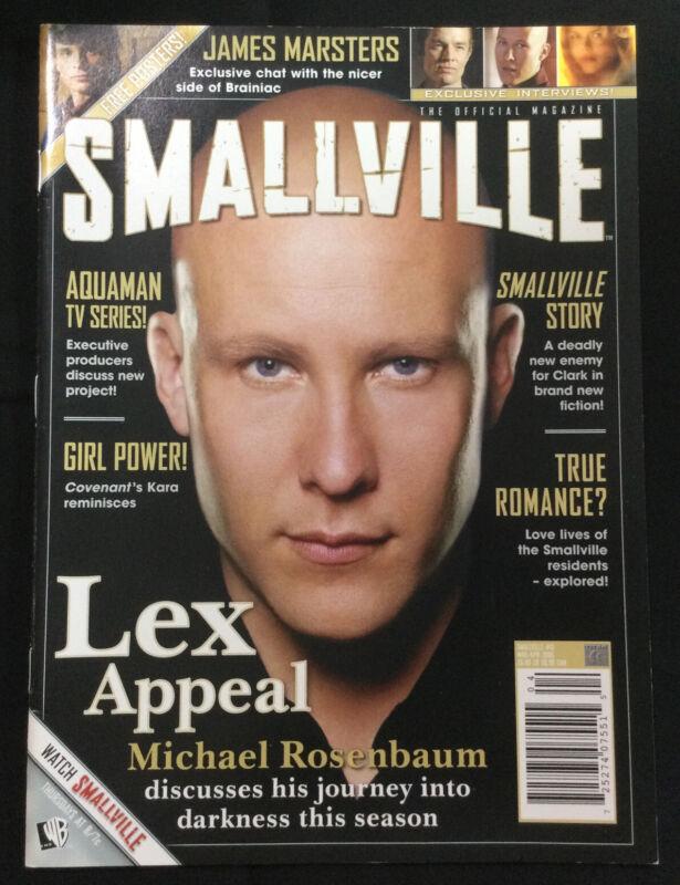 Smallville Magazine #13 MAR/APR 2006 Michael Rosenbaum, Tom Welling, Brian Trust