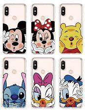 Disney Funda Carcasa Silicona Case Para Xiaomi Mi 9 A2 lite Redmi Note 7 5 6 Pro