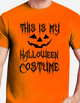 This is My Halloween Costume Halloween Costume Pumpkin scary face gift T-shirt - This Is Halloween Pumpkins