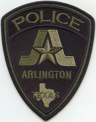 ARLINGTON TEXAS TX subdued POLICE PATCH