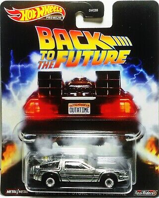 Hot Wheels Premium 2020 Retro Entertainment Back To The Future TIME MACHINE NEW
