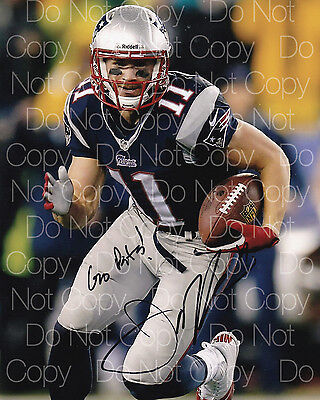 Julian Edelman signed NE Patriots 8X10 photo picture poster autograph RP
