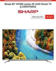 SHARP 4K TV UHD SMART TV (1 Month old)