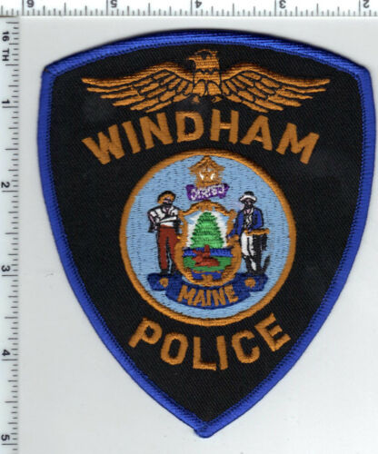 Windham Police (Maine) Shoulder Patch - new from the 1990