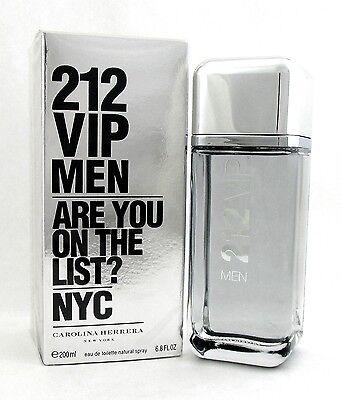 212 VIP Men by Carolina Herrera 6.8oz./ 200ml. EDT Spray. Brand new. Sealed box.