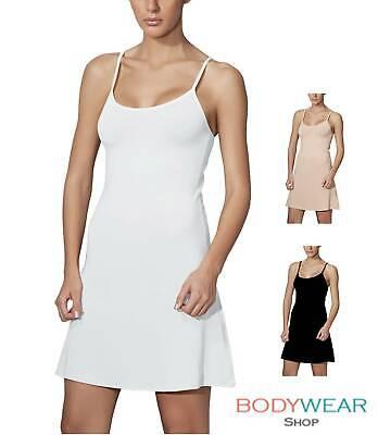 Damen Unterkleid kurz Frauen Unterröcke Mini Baumwolle Modal S-XXL
