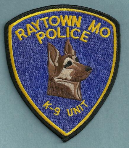 RAYTOWN MISSOURI POLICE K-9 UNIT SHOULDER PATCH